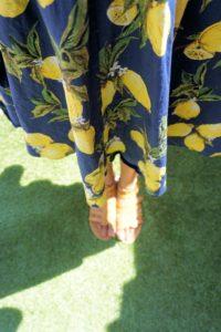 OOTD: Lemon Dress