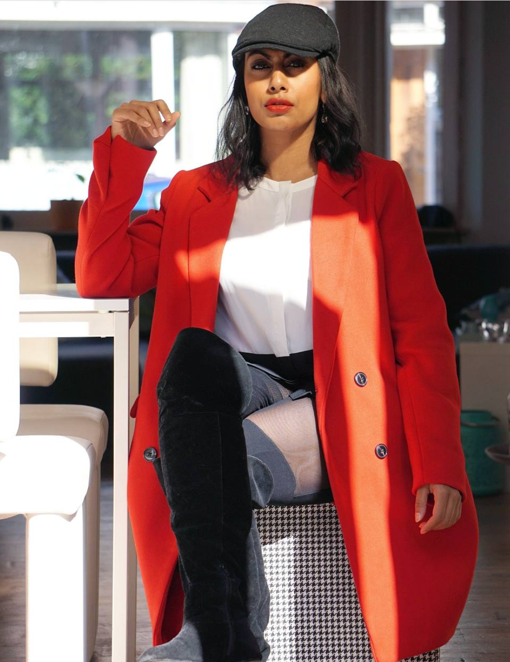 OOTD: Another oversized coat