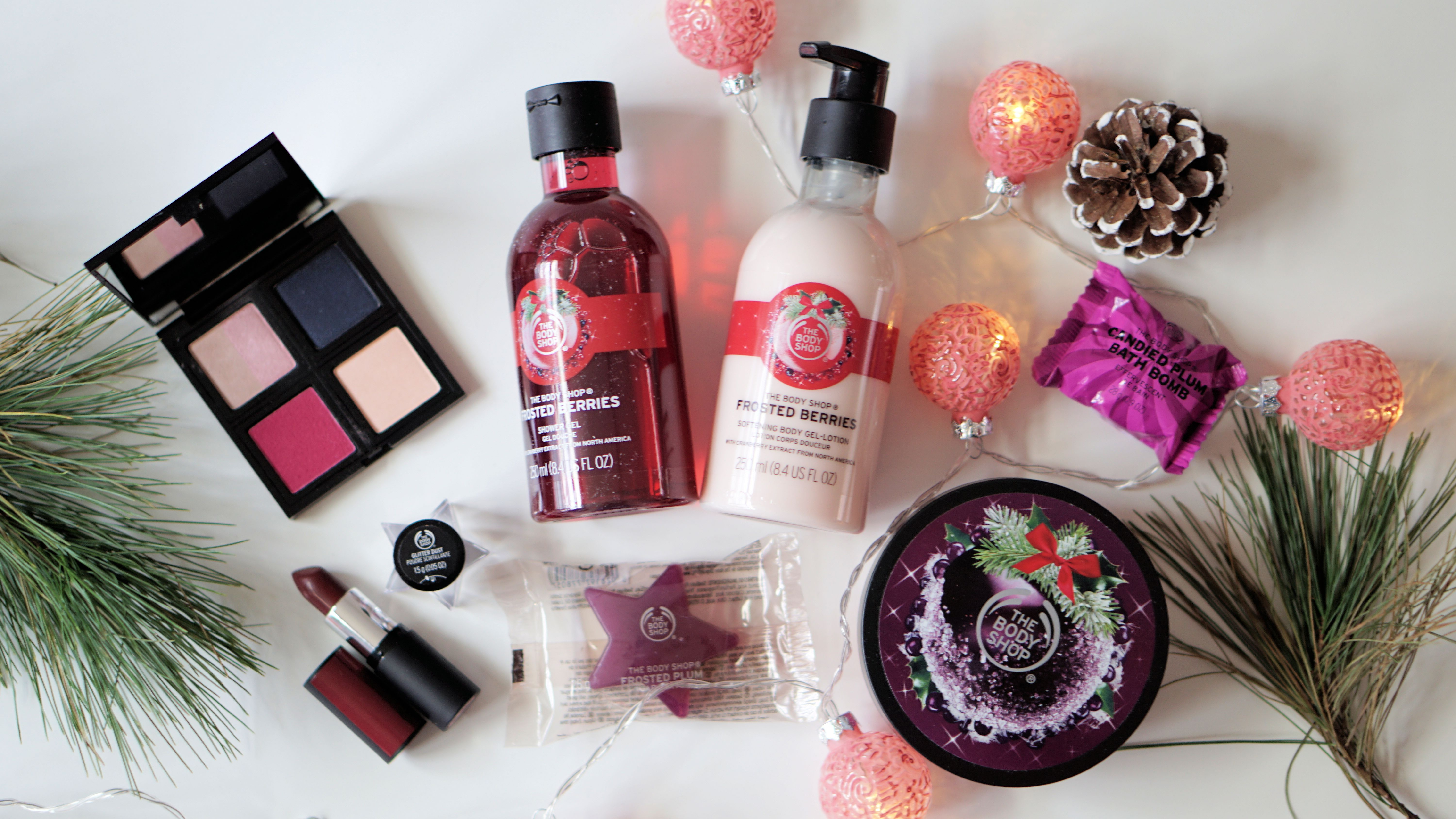 XMAS WITH THE BODY SHOP