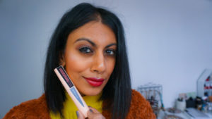 FLUFFY LASHES WITH TOTAL TEMPTATION MASCARA BY MAYBELLINE