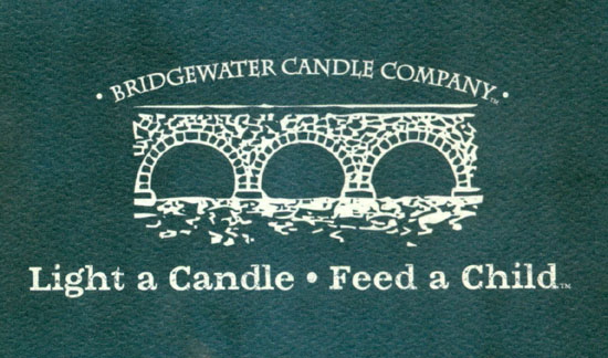 Goodiebag from Bridgewater Candle Company
