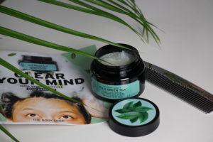 THE BODY SHOP – FUJI GREEN TEA CLEANSING HAIR SCRUB