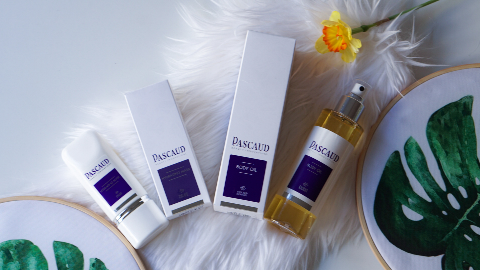 PASCAUD BODY OIL & HYDRATING MASK