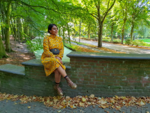MY NEW MOSTARD YELLOW DRESS FROM……..