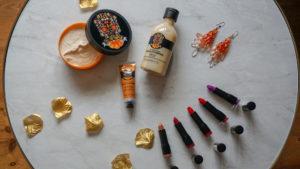 VANILLA PUMPKIN & COLOUR CRUSH FROM THE BODY SHOP