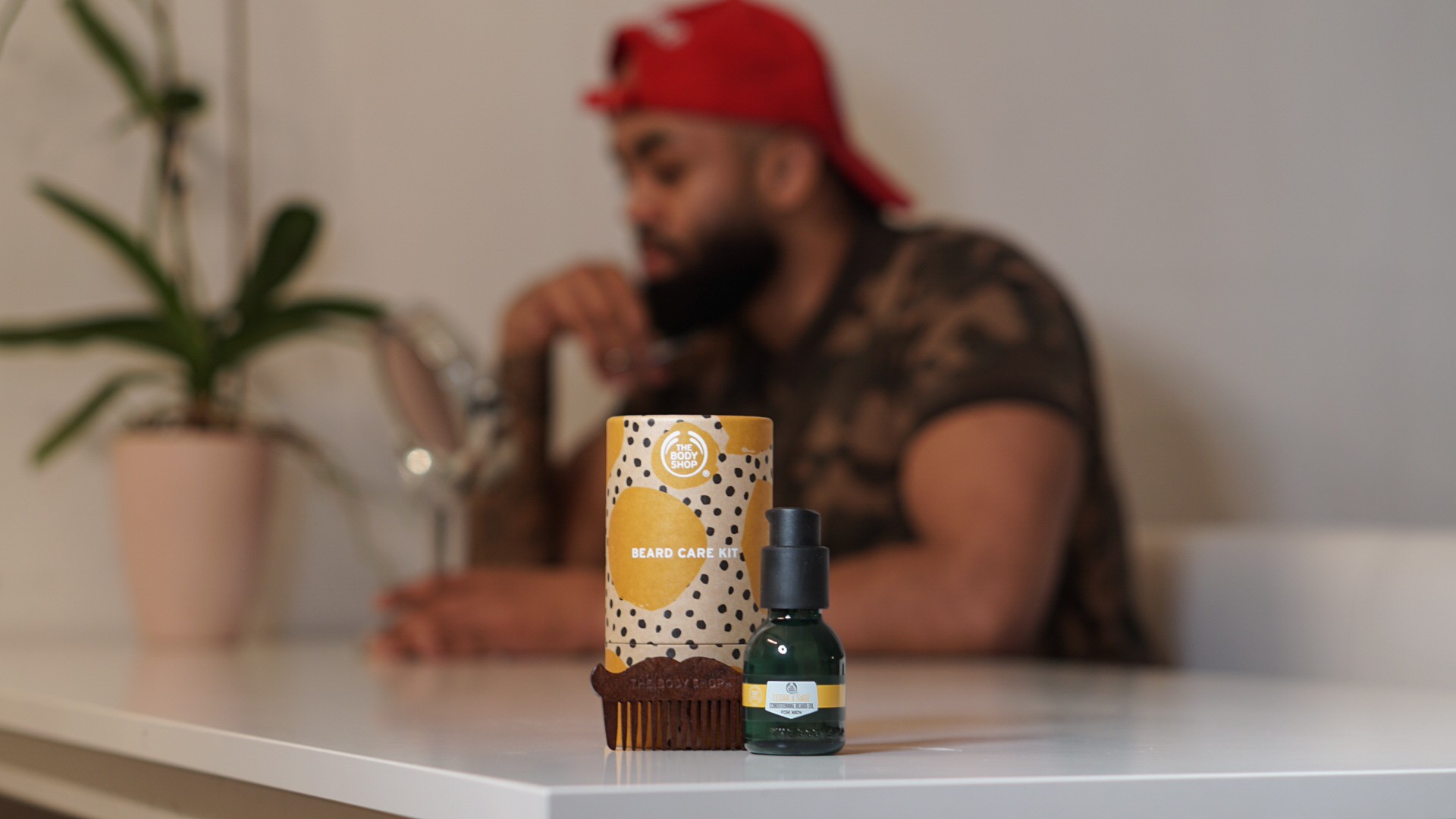 BEARD CARE KIT FROM THE BODY SHOP