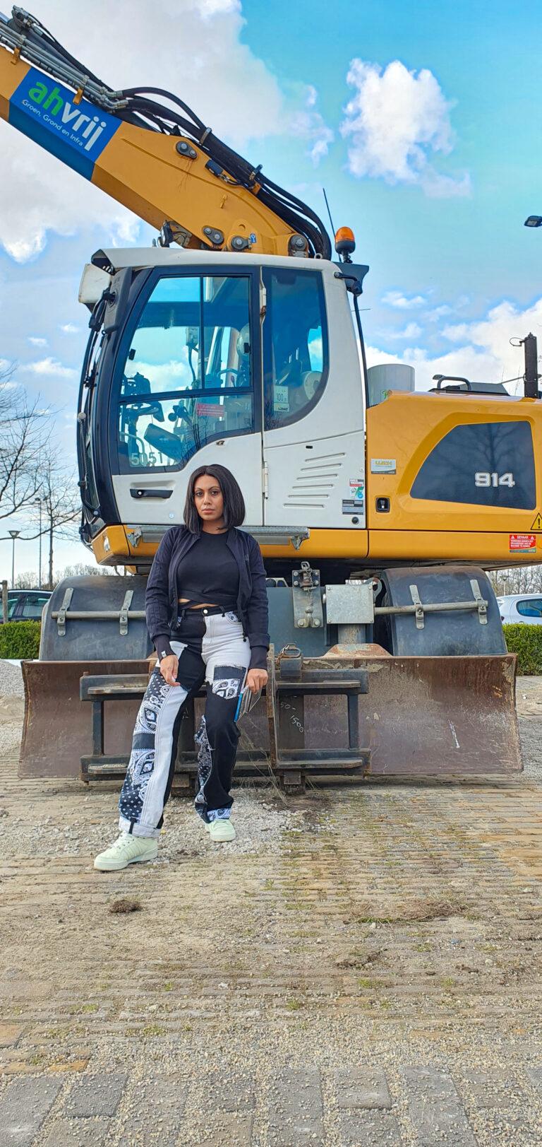 shein high waist colorblock jeans