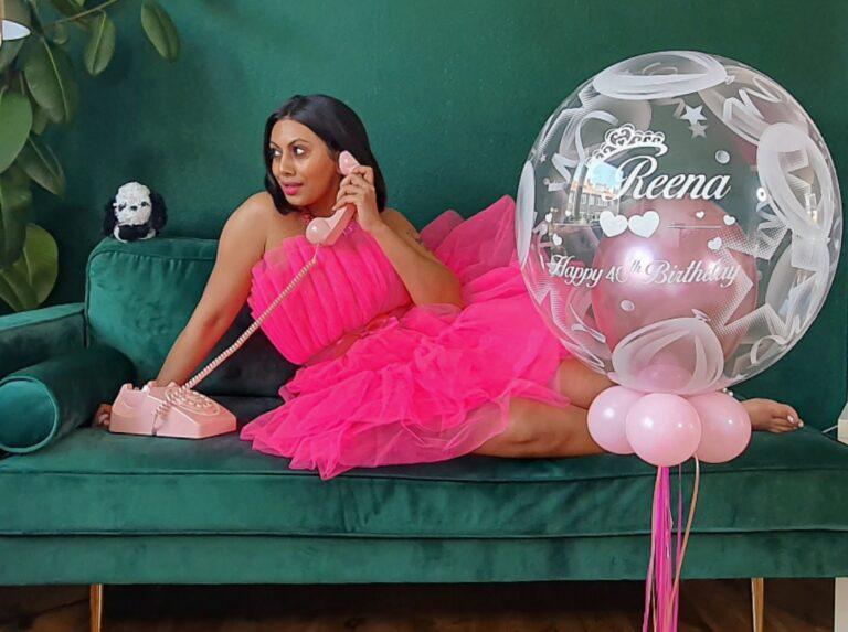 shein bow mesh pink dress