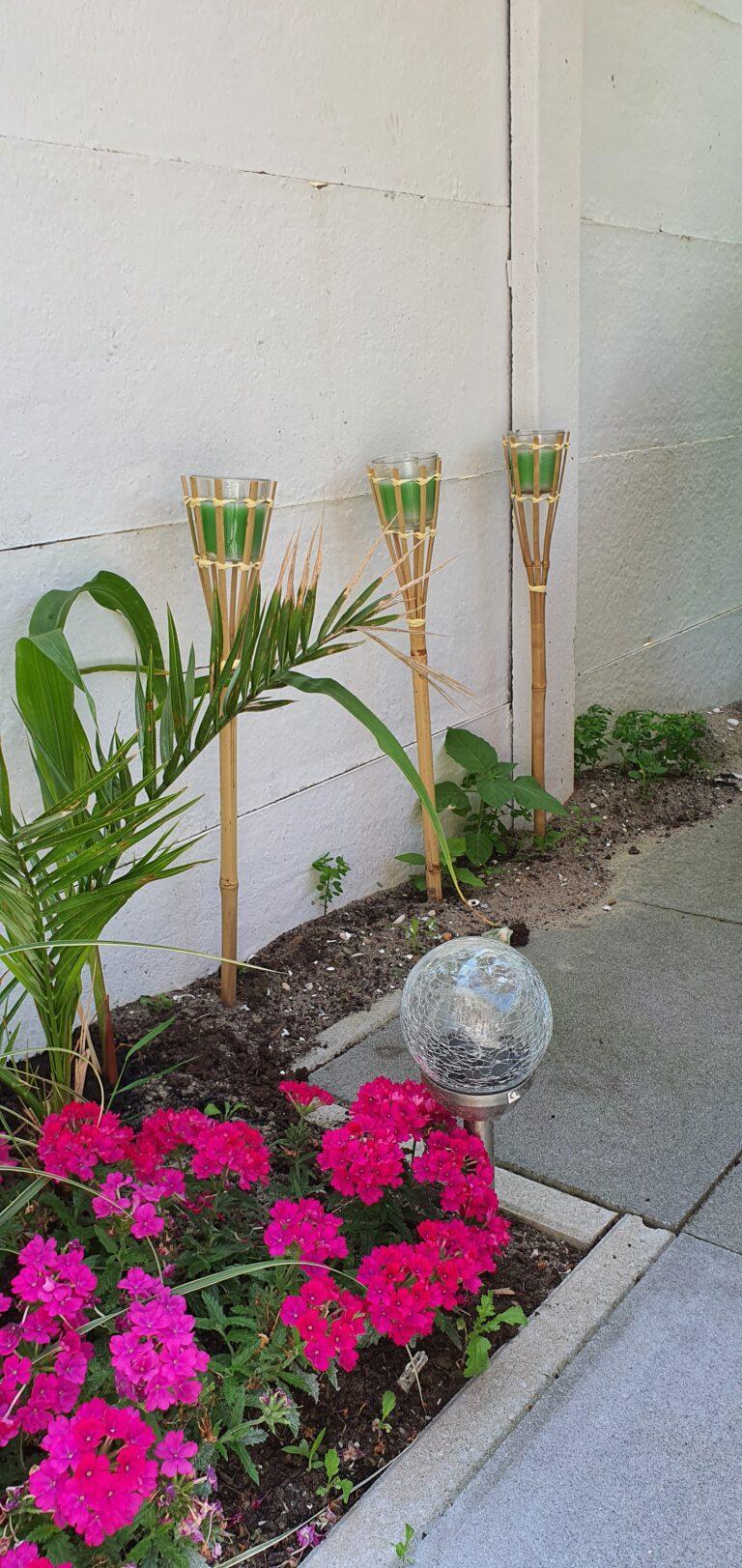 Bamboe tuinfakkels Action